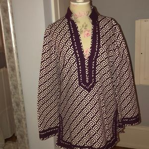 Tory Burch cotton tunic dress